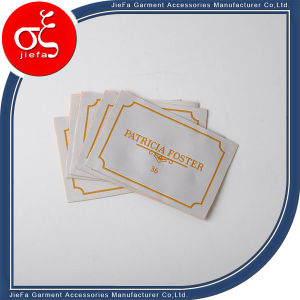 Brand Luxury Custom Garment Woven Main Label/Neck Label/Size Label for Clothing pictures & photos