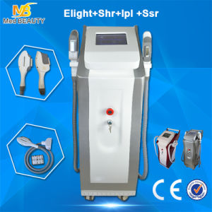 Opt IPL Laser Medical Equipment / Dual Handle E-Light Hair Removal Beauty Machine pictures & photos