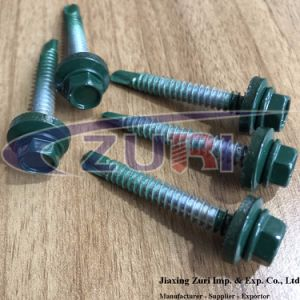 Roofing Screw 14X2′′ Green pictures & photos