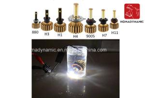 Automotive LED Headlight Three Colors High Real Lumen LED Headlight 3000k 6000k 10000k pictures & photos