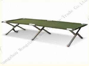 Light Weight Alumium Single Camping Bed pictures & photos