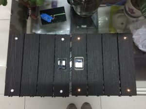 LED DIY WPC Decking Tile pictures & photos