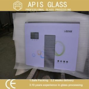 Silk Screen Printed Touch Screen Tempered Glass for Water Heater pictures & photos