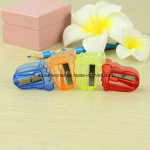 Toe Shape Transparent Sharpener pictures & photos