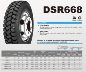 315/80r22.5 Longmarch Double Star Heavy Duty Truck Tires pictures & photos