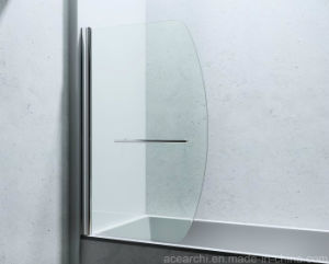Foldable Semi-Frameless Shower Screens with Ce pictures & photos