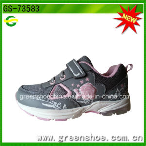 Wholesale Happy Girls Shoes Sport for Girls LED Light Shoes pictures & photos
