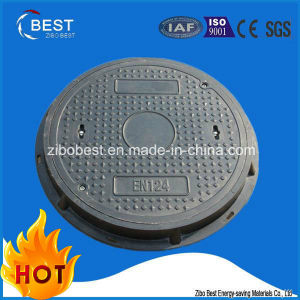 C250 En124 Round FRP SMC Diameter Manhole Cover pictures & photos