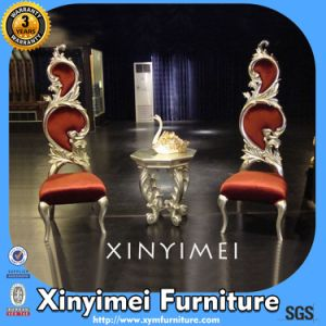 Wholesale Price High Back Wedding King Throne Chairs (XYM-H119) pictures & photos