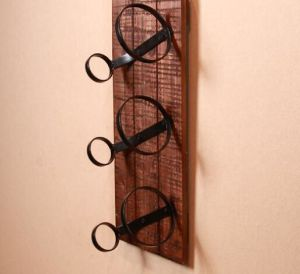 Plain Wood Wine Rack for Bar pictures & photos