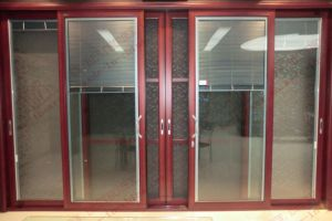 Australian Standard Aluminum Heavy Sliding Door (BHA-DS12) pictures & photos