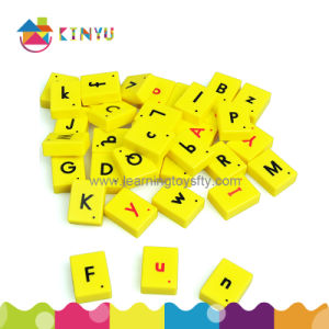 Plastic Magnetic English Letter Tiles pictures & photos