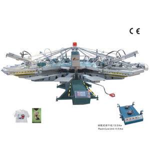 Yh Automatic Textile Screen Printing Machine (SERIGRAPHY) pictures & photos
