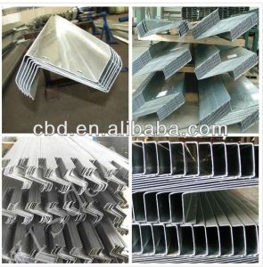 Steel Door Frame Profile/Cold Rolled Z Steel Purlin Galvanized Profile (factory) pictures & photos