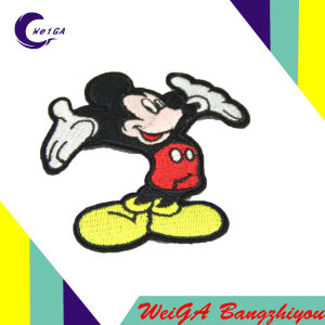 Factory Customize Various Styles of High Quality Embroidered Piece pictures & photos