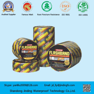 Popular Overseas Self-Adhesive Bitumen Aluminum Tape pictures & photos