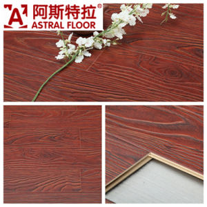 Jiangsu Changzhou (V-groove&U-groove) Registered Embossed Surface Laminate Flooring (AT002) pictures & photos