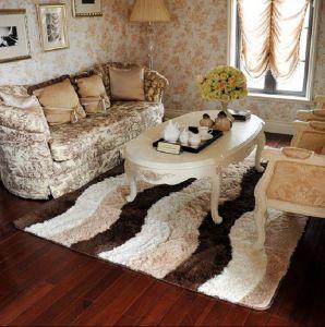 100% Polyester Fabric Silk Carpet Textile Flooring Mat