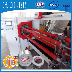 Gl-709 Glass Fiber Tape Production Line Log Roll Slitter Machine pictures & photos
