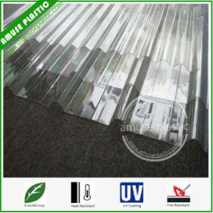 Transparent Plastic Building Board Polycarbonate Corrugated Sheet pictures & photos