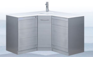 Medical Cabinet with Hot / Cold Water Tap pictures & photos