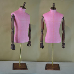 PU Wrapped Male Torso Mannequin in Hot Sale pictures & photos