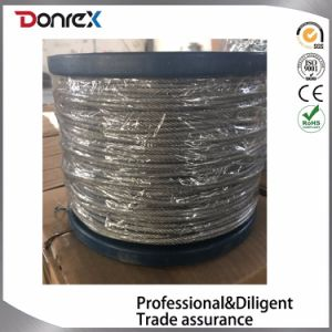 Electro Galvanized Steel Wire Rope DIN3055 pictures & photos
