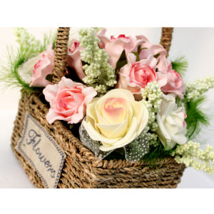 The Hottest Basket of Artificial Flowers08 pictures & photos