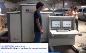 Luggage X-ray Inspection Systems with High Performance Threat Detection pictures & photos