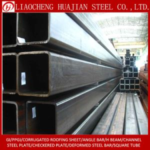 50X50mm Carbon Stee Square Tube with Varnishing pictures & photos