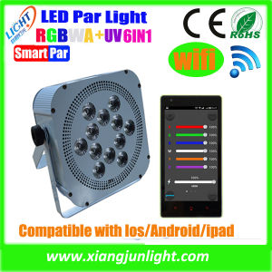 Battery Powered Rechargeable LED PAR Light 12X12W with DMX Wireless pictures & photos