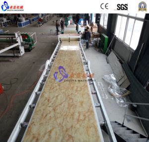 PVC Marble Sheet/Panel Extruder Machine pictures & photos