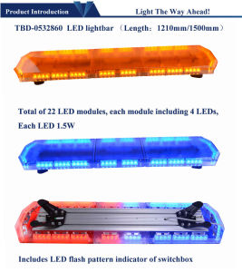 24V LED Warning Light Bar for Ambulance pictures & photos
