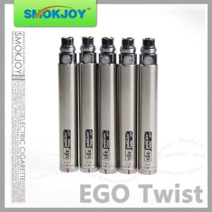 Smokjoy High Quality Vape Cig EGO Twist Battery with 650/900/1100/1300mAh