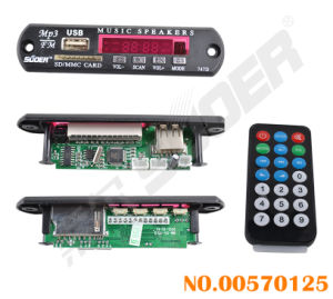 Suoer SD Card MP3 Decoder Board 5V (00570125) pictures & photos