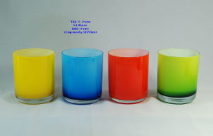 Colored Glass Tumblers
