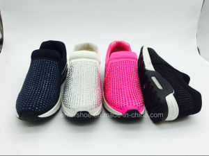 Slip on Women Sport Sneaker Shoes (ET-JRX160400W) pictures & photos