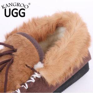 Fashion Kangaroo Skin Shoes for Men pictures & photos