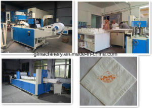 Glcj F700 Napkin Printed Embossed Machine Napkin Folder Machine pictures & photos
