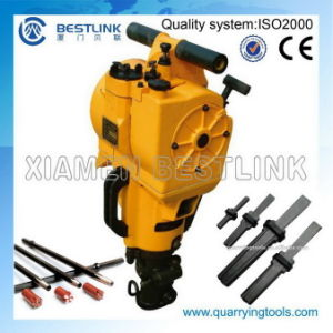 Gasoline Rock Drill/Portable Vertical Rock Drill From Bestlink pictures & photos