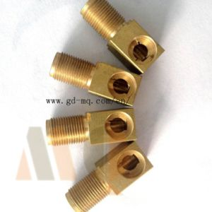 CNC Turning Brass Parts/Mass Production Turned Parts (MQ1030) pictures & photos