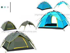 Fashionable Double-Skin Automatic Camping Tent for 3 - 4 Persons (JX-CT023) pictures & photos