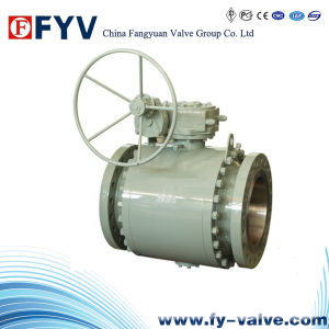 API 6D Forged Steel Trunnion Mounted Ball Valve pictures & photos