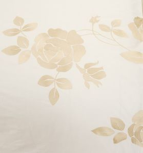 Summer Use White Garden Embroidey Bedding Set pictures & photos