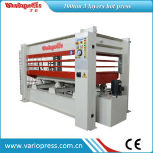 Hydraulic Hot Press Machine for Doors pictures & photos