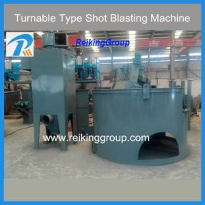High Efficiency Turnable Shot Blasting Equipment pictures & photos