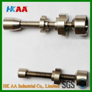 CNC Machining High Precision Adjustable Titanium Nails pictures & photos