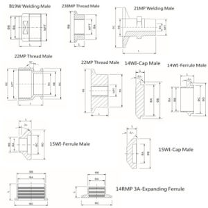 Saniyary Stainless Steel Clamp-Type Ferrule pictures & photos