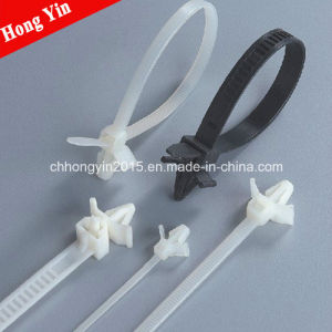 SGS Certificate Nylon Cable Tie Push Mount Ties pictures & photos
