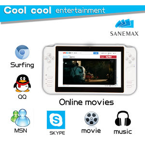 "7"" Android4.0 8GB Smart Game Console WiFi MP4 Player"
